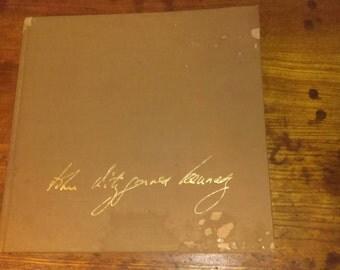 JFK memorial book- John Fitzgerald Kennedy as we remember him