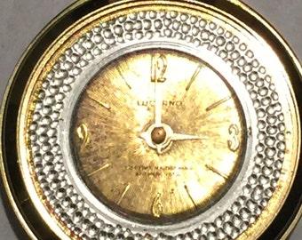 Vintage Lucerno Pendant Pocket Watch Runs Fine