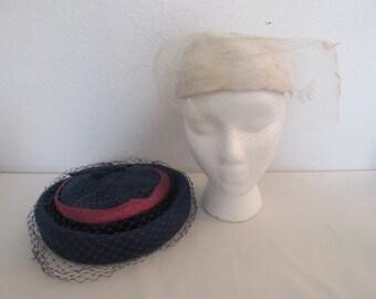 Vintage Veil Hats