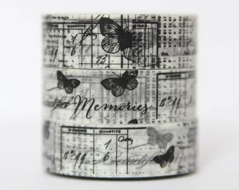 Washi tape Butterfly sketch