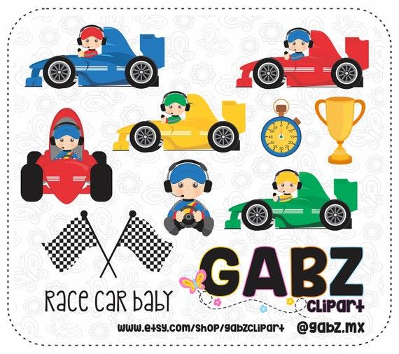 race car baby baby shower clipart baby boy gabz
