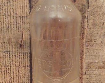 Pepsi Cola 16 fl. oz. Clear Glass Bottle