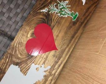 Louisiana LOVE sign- sugar cane