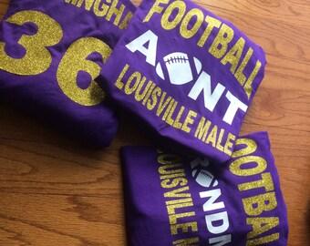 Football, Soccer, Cheer, Gymnastics tshirts!