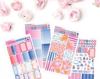 HAPPY PLANNER // Fleurs in Bloom Weekly Sticker Kit