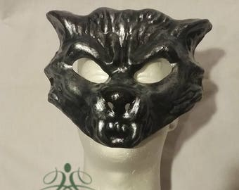 Wolf gold or gray Mask