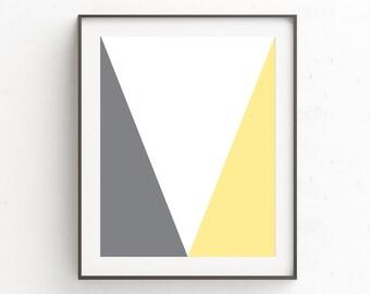 Modern Apartment Art | Huge Wall Art | Gallery Wall Decor