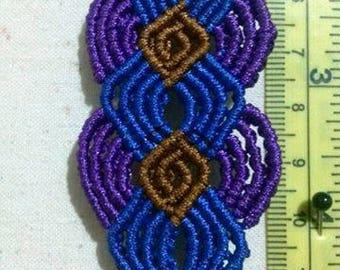 Triple color bracelet