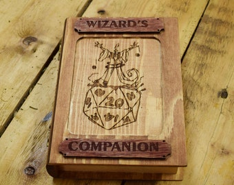 Sorcerer Wizard, Companion, Spell Checker, Dice Box, Spell Marker, Dingeons and Dragons, Pathfinder, Tabletop Gams, Spells, Magic