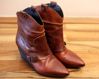 MoMa Vintage Booties shoes Eu36 1/2  UK3 1/2 US6