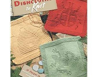 GARDEN DISHCLOTHS to KNIT 12 Designs by Melissa Bergland Burnham