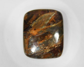 Pietersite - Rectangular Shaped Cabochon - 18x15 mm - 14.1 Ct