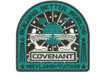 Alien: Covenant - Machine embroidery design