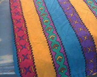 Vintage 1990's Disney Pocahontas twin size flat sheet