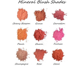 Mineral Blush, Vegan, Cruelty-free, Acne safe, 4.5g Sifter Jar