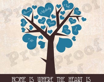 Home is Where the Heart Is Family Tree