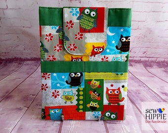 Child's Tablet Cover, Cute Tablet Sleeve, Tablet Cover, eReader Sleeve, eReader Cover, eBook Cover, 10 inch Tablet Sleeve