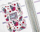 "Kit Add On Deco - ""Never Goes Out Of Style"" Deco Collective Sticker Sheet - Erin Condren Decorative Planner Stickers"
