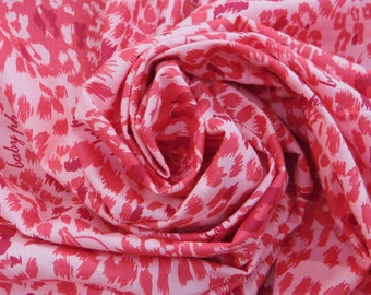 """Dressmaking Fabric Cotton Fabric For Sewing Designer Abstract Printed Cotton Pink Fabric 45"""" Wide Sewing Fabrics Dress By The Yard ZBC6374"""
