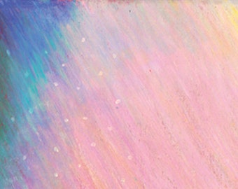 Facebook Cover purple and pink dot