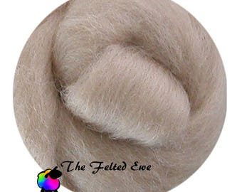 Needle Felting Wool Roving / DR53 Fresh Faces Carded Wool Roving Sliver