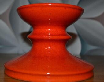 Vintage candlesticks Orange 70s
