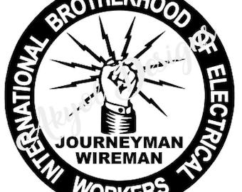 Journey Wireman Decal