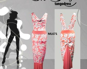 Tango Dress  for Salon Mimi Pinzon