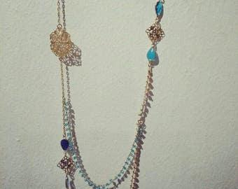 """Necklace """"blue"""""""