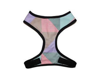 Color Blocking Harness Custom Made - by QC Pets