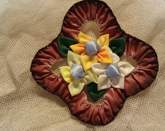 1920s Style Ribbon Flowers for Clothing