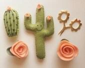 Cactus Magnet Set (4 Piece)