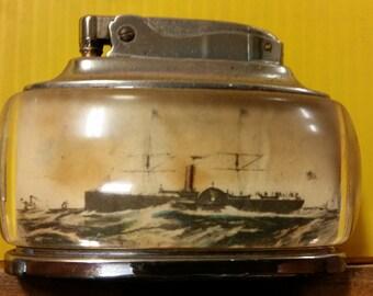 """Vintage Ronson """"Trophy"""" Table Lighter"""
