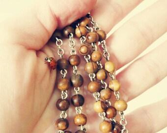 Ladybug Rosary Prayer, Nature Photography