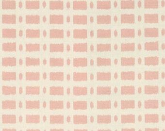 SCHUMACHER TOWNLINE ROAD Linen Fabric 10 Yards Pink