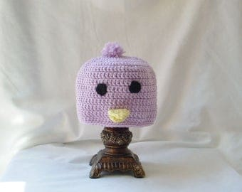 Crochet Chick Hat, Toddler Chick Hats,  Easter Chick Hats, Girl's Easter Hat, Boy's Easter Hats, Crochet Animal Hats, Pastel Peeps Hat