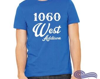 1060 W Addison, Chicago Shirt, Chicago Baseball Shirt, Sport Shirt, Baseball Shirt, North Side, Baseball Fan Shirt, Sports Shirt, Workout