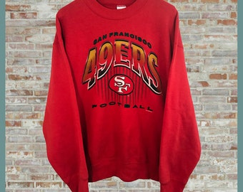 Vintage San Francisco 49ers Crewneck Sweatshirt Large