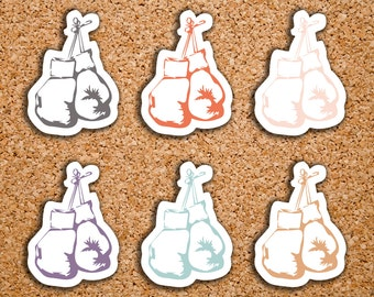 42 Boxing Glove Icon Stickers for 2017 Inkwell Press IWP-DC45
