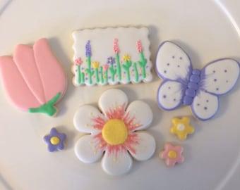 Spring time cookie box set