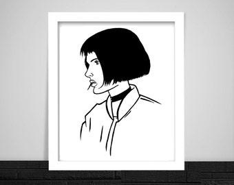 Mathilda / Leon the Professional Print