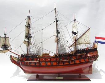 "Friesland  38"" Handcrafted Dutch Tallship Model"