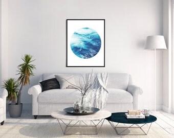 Ocean Print, Surf Art, Ocean Photo, Ocean Wall Art, Surf Decor, Nature Photography, Wave Art Print, Nautical Decor, Aqua Print, Sea Poster