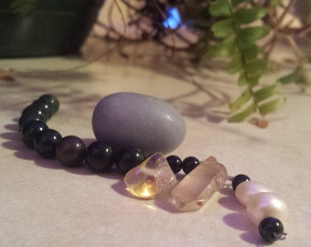 Christ Consciousness, Prayer beads, Medicine Pouch, healing stones