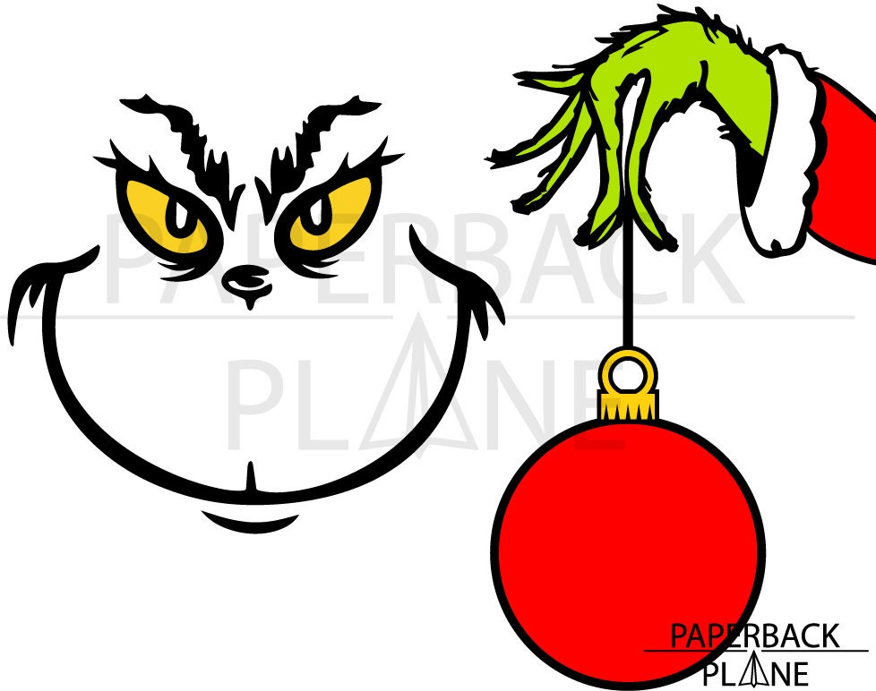 Download How the Grinch stole Christmas SVG PNG DXF Files by ...