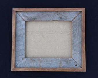 8x10 Stacked Barnwood Frame