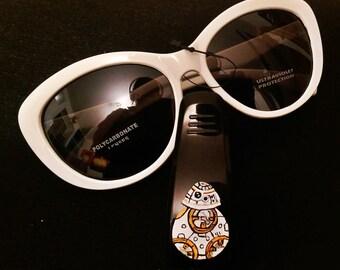 BB8 car sunglass visor clip-Star Wars car accessories