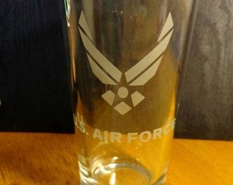 Air Force Pint Glass
