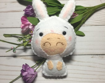 Noialand Bunny Baby with Carrot Costume