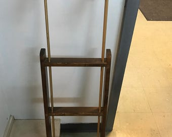 Vintage adjustable yacht/boat ladder